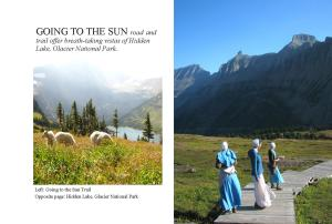 Walking Sticks...page 81 Glacier Hutterites and three goats